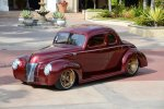 1940 Custom Ford Coupe